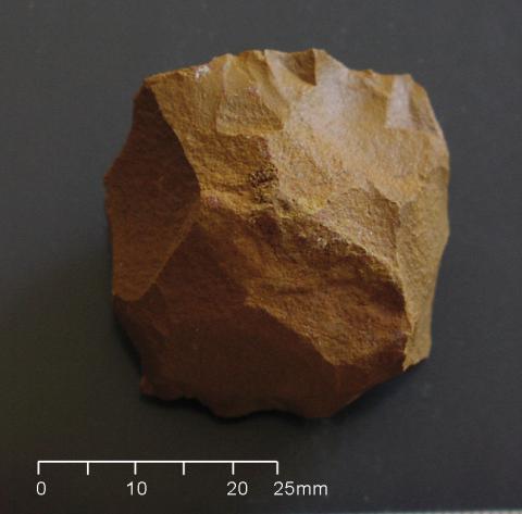 Holocene core flake