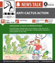 NEWS talk on cactus control: 11 October 2018